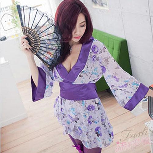 花精靈和服 角色扮演服裝性感和服cosplay服裝~A516...