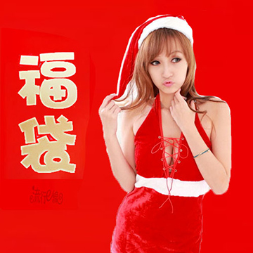 聖誕節福袋~超值聖誕服5件組福袋G06...