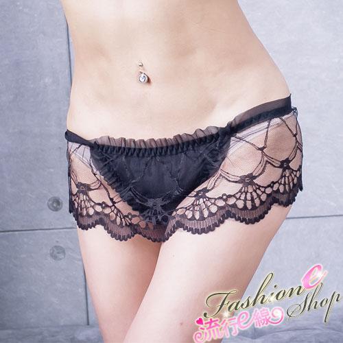 性感丁字褲,浪漫女性內褲荷葉性感內褲~流行E線B6011...