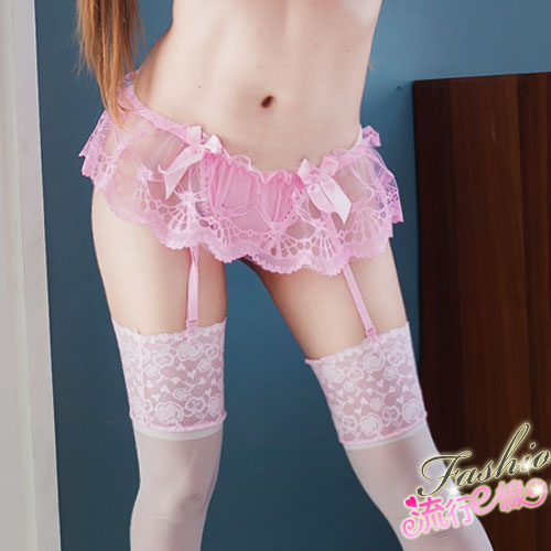 性感絲襪/網襪+吊襪帶組合包~蕾絲性感吊帶襪組*流行E線S030...