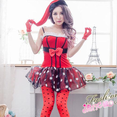 公主華麗聖誕裝小禮服式聖誕節跨年派對服COSPLAY服裝*流行E線F066...