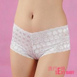 *流行E線*【B546】情人節甜蜜蜜愛心圖案四角褲~低腰平底褲~...