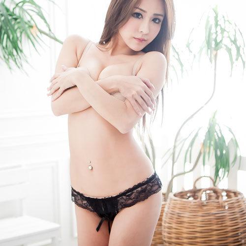 絕美開檔性感丁字褲~情趣內褲情人節禮物~*流行E線B582