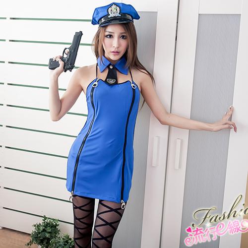 角色扮演cosplay角色扮演女警制服~A515...