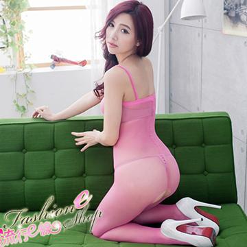 裸肌貓裝膚色連身貓裝~少見粉桃色性感貓裝~B367...