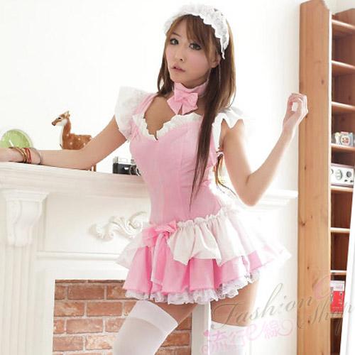 cosplay角色扮演服裝萌系粉色女僕裝公主裝*A379...