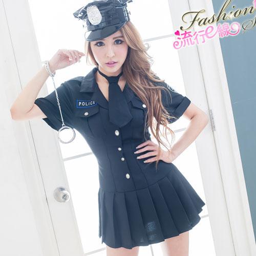 女警服角色扮演服 甜心軍裝cosplay服裝聖誕禮物~流行E線A7075