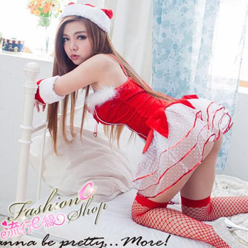 聖誕禮物聖誕服角色扮演聖誕裝跨年派對服cosplay服裝-流行E線F062