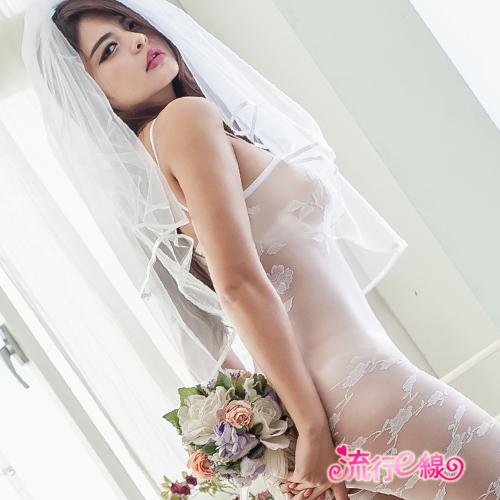 玫瑰貓裝連身情趣內衣褲貓裝黑色白色~B8073...
