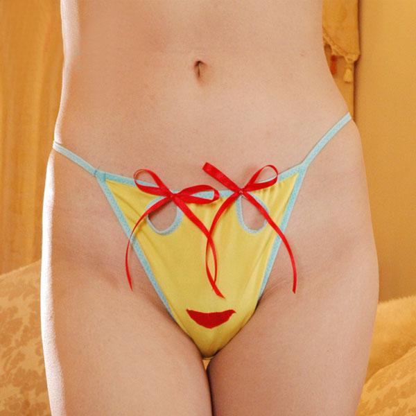 可愛造型丁字褲~B6119...