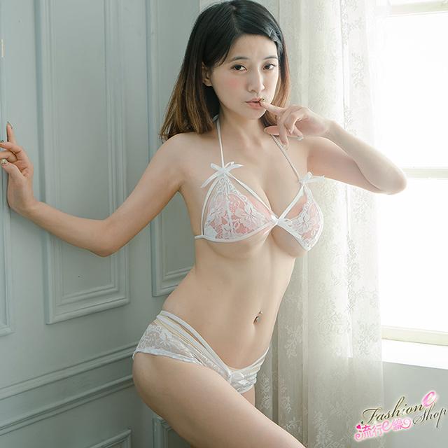 S-XXL紅色/白色情趣內衣褲-A7193...