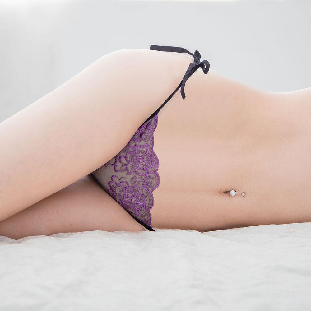 性感綁帶三角內褲女內褲 B6132...