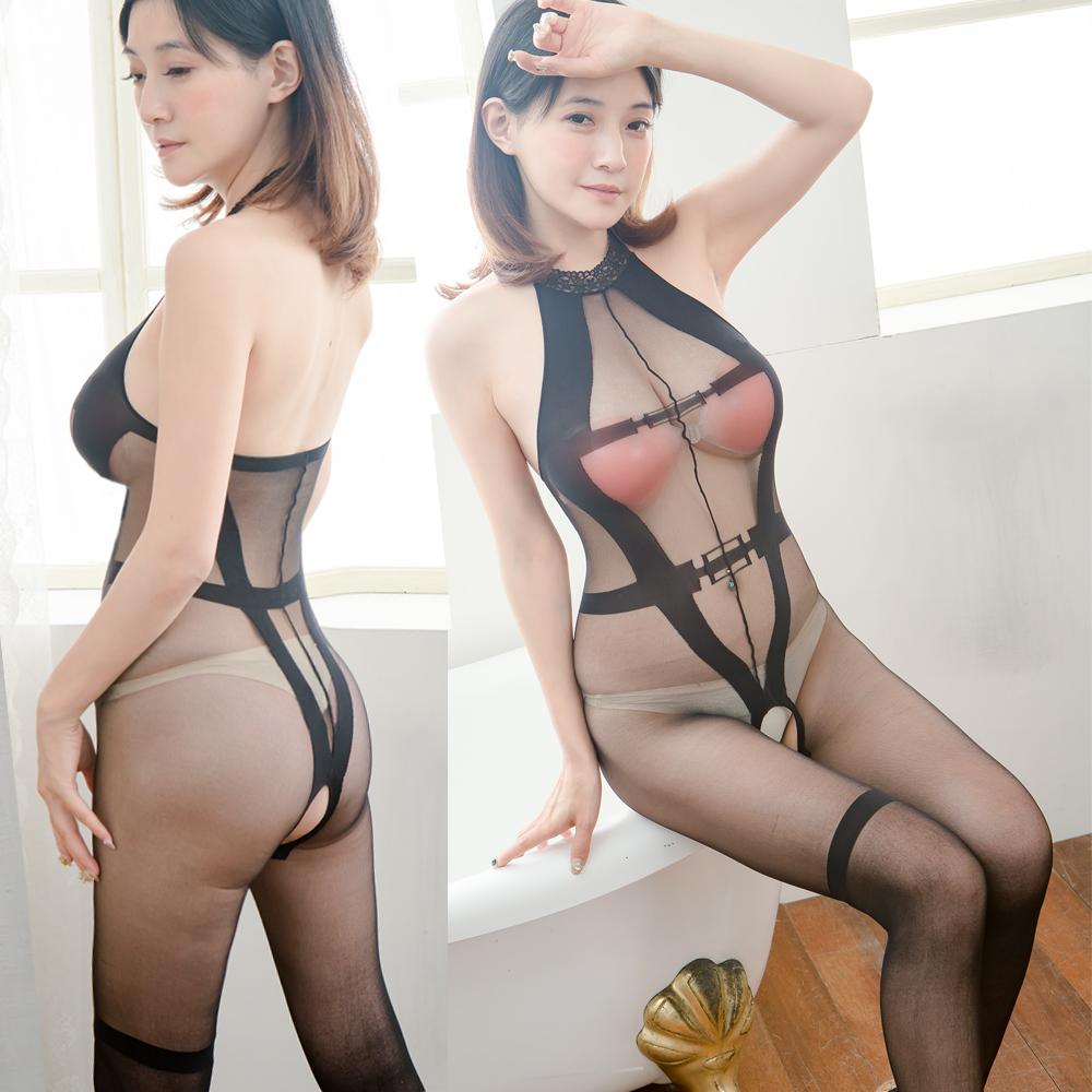 貓裝情趣內衣褲 台灣製貓裝連身網衣情趣睡衣 B8127...