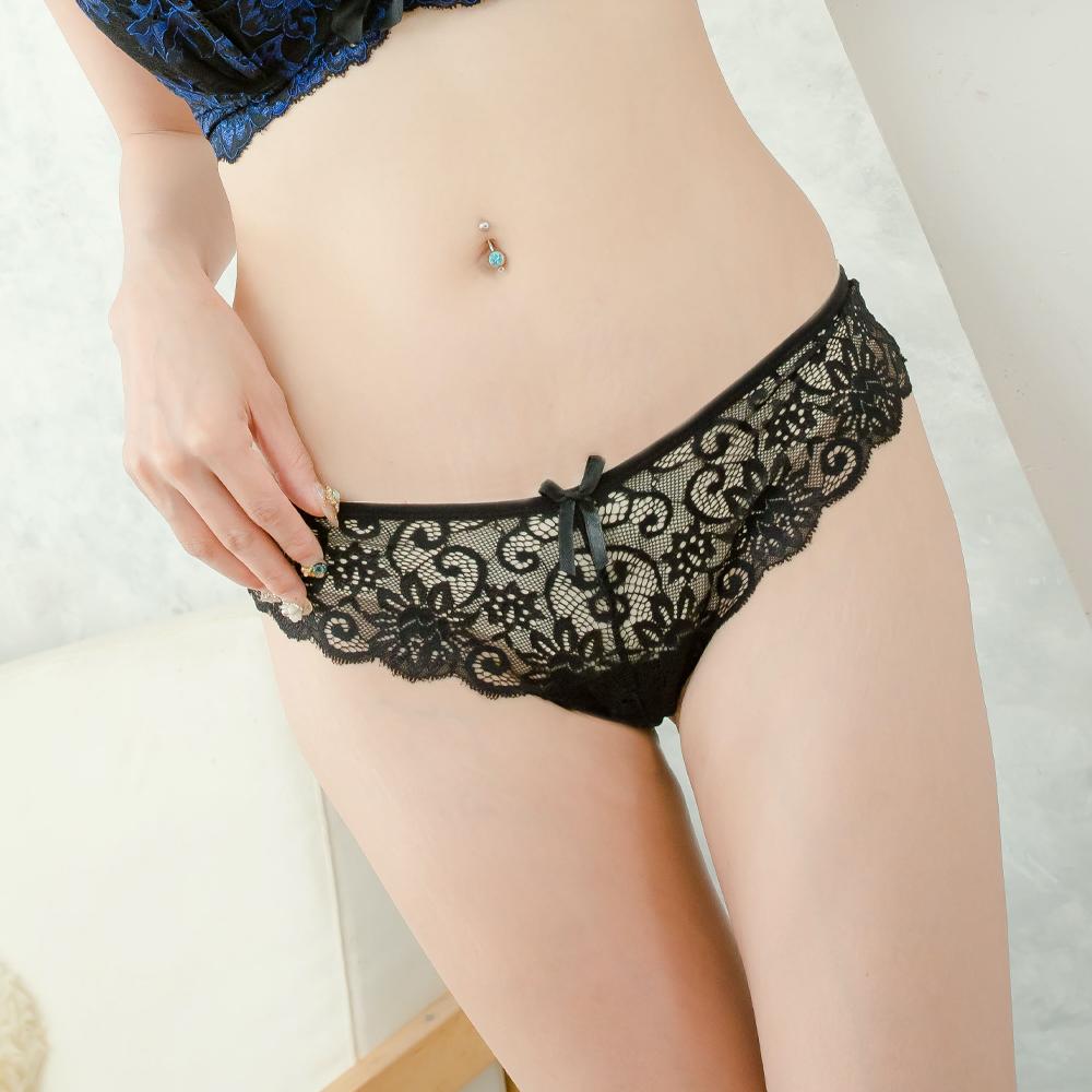 S-XL蕾絲性感丁字褲 全蕾絲性感內褲 小中大尺碼~B6120...