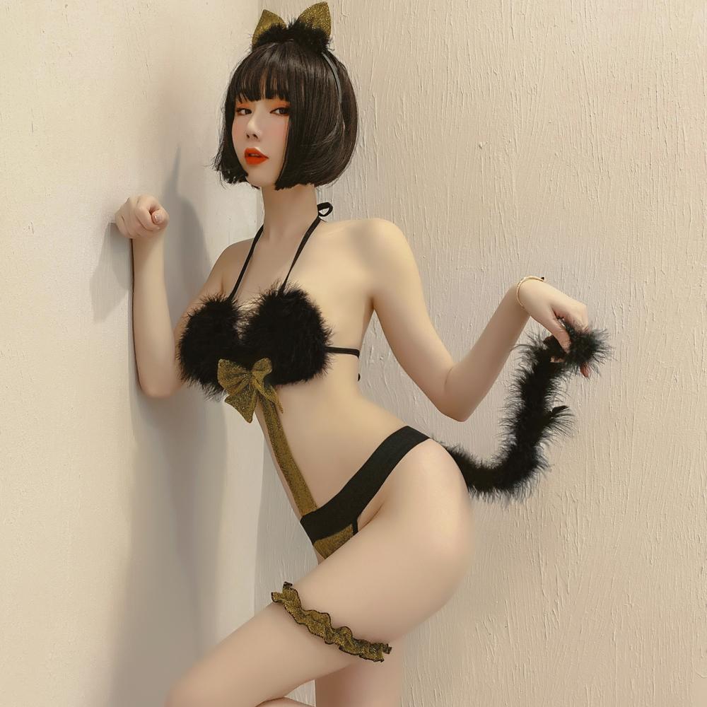 甜心貓女郎表演服 情趣內衣式角色扮演服~A7266...