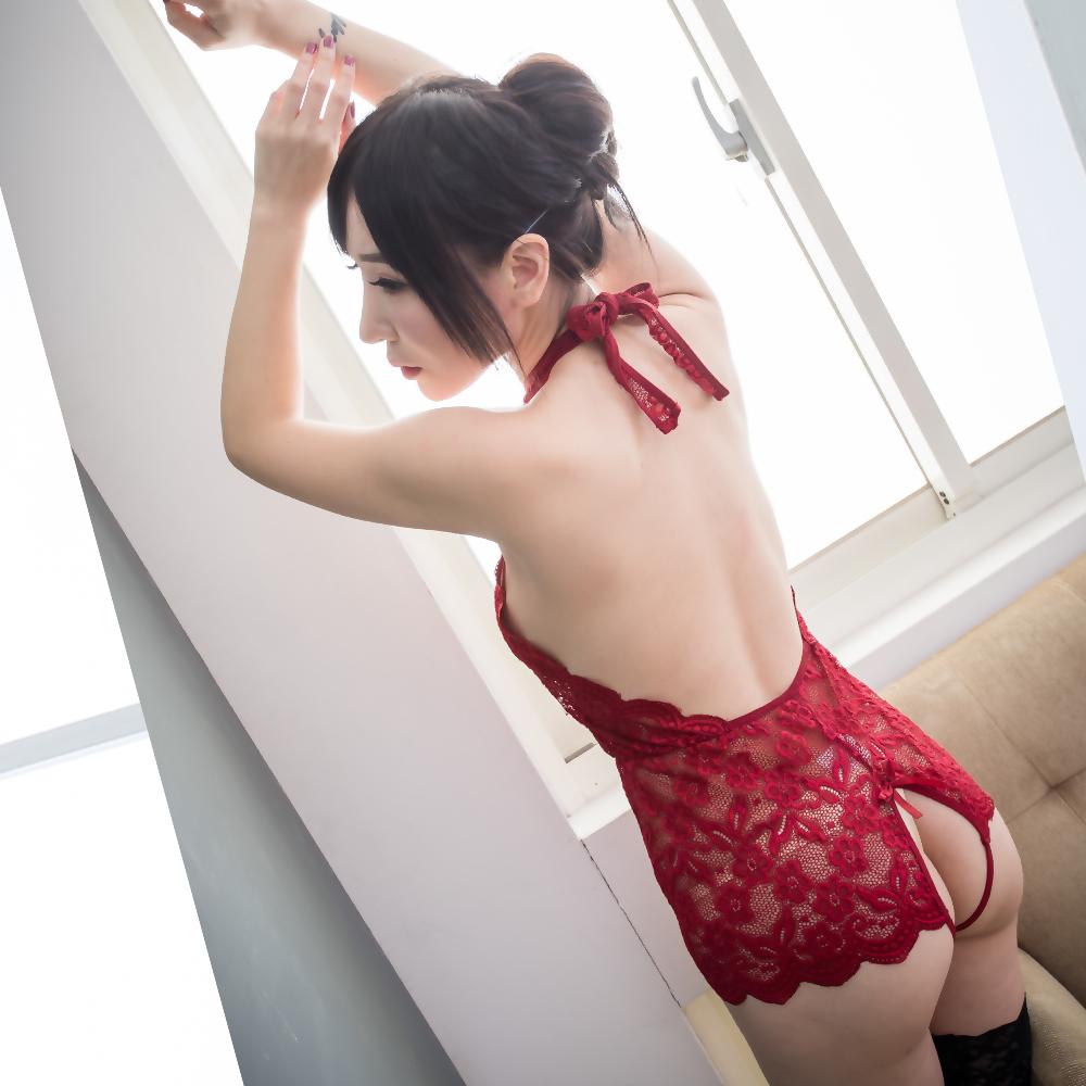 S-2XL大尺碼情趣內衣褲 連身性感睡衣 開襠情趣內褲 ~A7207...