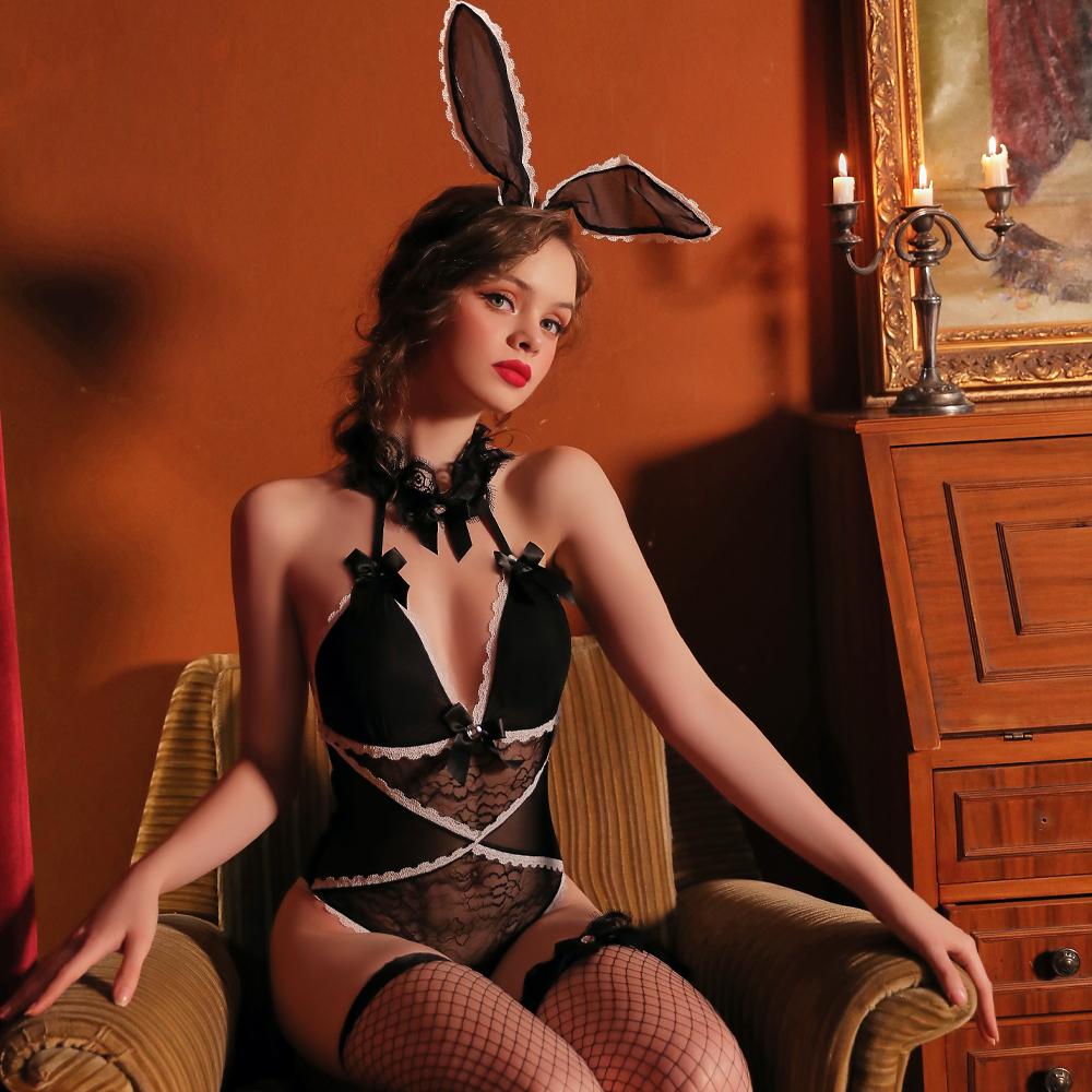 甜心透明兔女郎 角色扮演cosplay表演服~A7288...