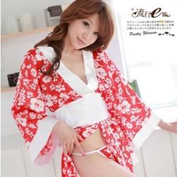 性感日本和服浴衣浴袍~角色扮演特色制服派對*A196...